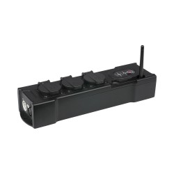 Power Box 3 Con Ricevitore Wireless Dmx