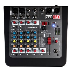 Mixer Allen e Heath Zed 6 Fx