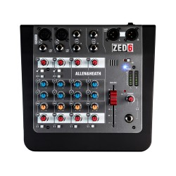 Mixer Allen e Heath Zed 6