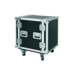 FLIGHT CASE PRO CON RUOTE 12 UNITA'