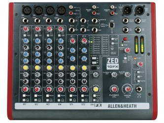 Mixer Allen e Heath Zed 10 Fx